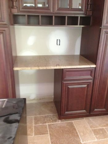 After Granite Counter Installation