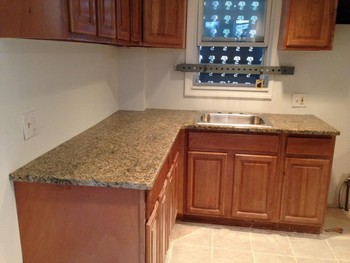 ... After Install Of Granite Countertops In Newark, NJ